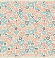 hand drawn seamless pattern decorative stylized vector image vector image
