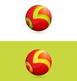 K or B letter logo vector image vector image