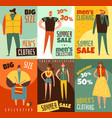 life cycles man woman cards vector image