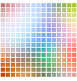 rainbow colors rounded mosaic background over vector image vector image