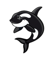 Whale mascot vector image vector image