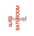 bathroom in good shape part one text background vector image vector image