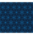 Laced abstract dark blue background vector image