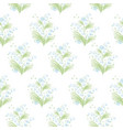 lilies valley stylized spring flowers vector image vector image