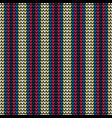 seamless color vertical knitting pattern vector image vector image