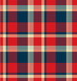 Tartan seamless pattern background vector image vector image