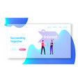 aida foundation business principles website vector image vector image