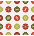 Christmas vintage paper vector image vector image