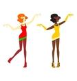 Jazz women vector image vector image