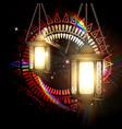 the concept of ramadan vector image vector image