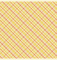 yellow watercolor gingham plaid striped paint vector image vector image