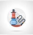 hookah shop color detailed icon vector image