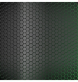 Abstract background with green backlight vector image vector image