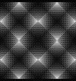 abstract seamless black and white square pattern vector image vector image