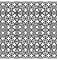 abstract target seamless pattern vector image vector image