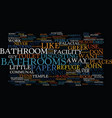 bathroom remodel the plan text background word vector image vector image