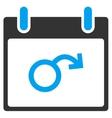 Impotence Calendar Day Toolbar Icon vector image vector image