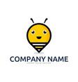 pin bee logo