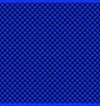 seamless blue heart pattern background - love vector image vector image