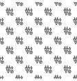smart energy plug pattern seamless vector image vector image