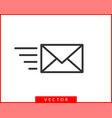 envelope icons letter envelop icon template mail vector image