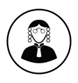 Judge icon vector image vector image