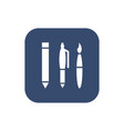 office supplies icon vector image vector image