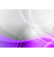 purple and grey wave abstract background vector image vector image