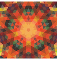 Retro backdrop of geometric shapes Colorful mosaic vector image vector image