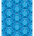 Sapphire seamless texture Blue gem background vector image vector image