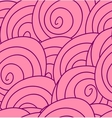 Seamless flower pattern with abstract pink roses vector image vector image