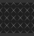 seamless gray knitting wallpaper vector image vector image