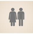 signs of man and woman restroom vector image vector image