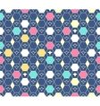 Argyle pattern Arabic seamless ornament vector image