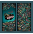 Abstract decorative ethnic ornamental backgrounds vector image vector image