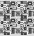 abstract grey windows seamless pattern vector image vector image