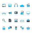 business office and marketing icons vector image vector image