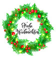 frohe weihnachten german merry christmas holiday vector image vector image