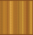 gold copper vertical stripes pattern hand vector image vector image
