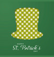 modern paper art design for saint patricks day vector image vector image