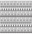 Seamless pattern in the style of boho or vector image vector image