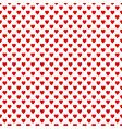 Seamless red heart pattern background - love