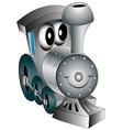 Steam Engine vector image