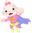 Super Baby Girl vector image
