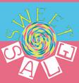 sweet sale4 vector image