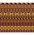 african pixel pattern vector image vector image