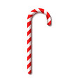 christmas candy cane new year vector image vector image