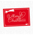 christmas labels and badges design elements set vector image vector image