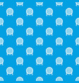 electric heater pattern seamless blue vector image vector image