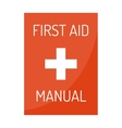 first aid kit box medical vector image vector image